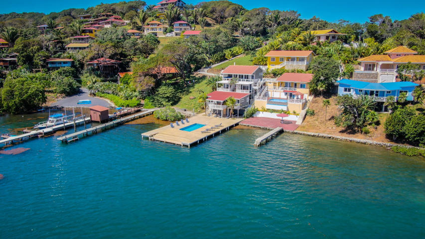 Oceanfront Home for Sale on Roatan