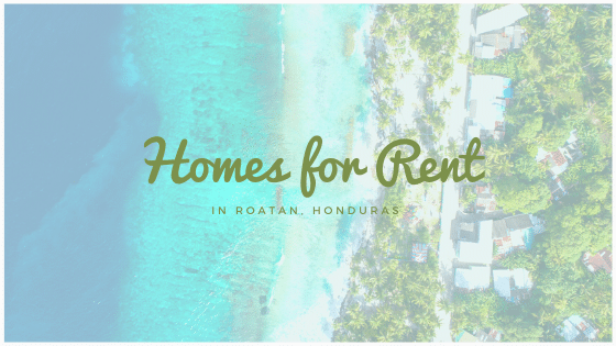 Homes for Rent in Roatan