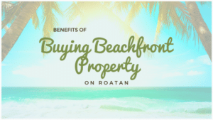 benefits of buyng beachfront property on roatan
